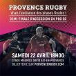 Carte 1/2 FINALE PROVENCE RUGBY / NEVERS à AIX EN PROVENCE @ Stade Maurice-David - Billets & Places