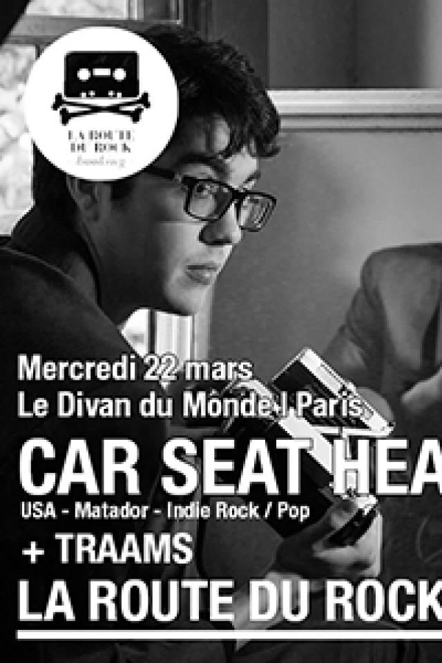 Concert Car Seat Headrest + Traams à Paris @ Divan du Monde - Billets & Places