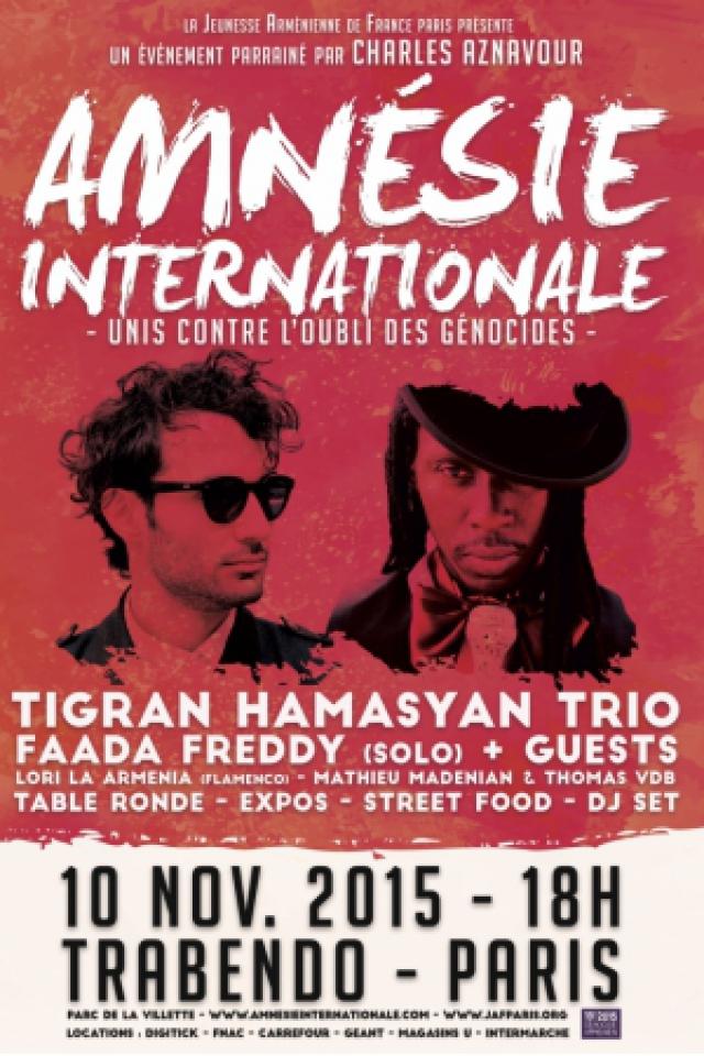 Festival Amnésie Internationale à Paris @ Le Trabendo - Billets & Places