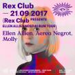 Soirée REX CLUB PRESENTE ELLEN ALLIEN NOST ALBUM TOUR