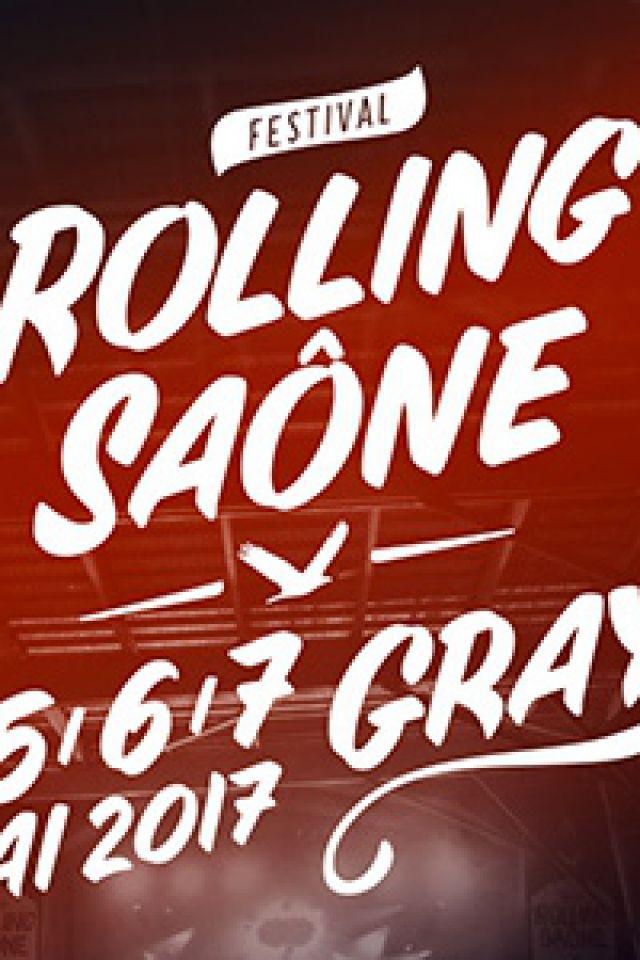 FESTIVAL ROLLING SAONE 2017 - DIMANCHE 7 MAI à GRAY @ HALLE SAUZAY  - Billets & Places