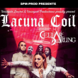 Concert Lacuna Coil + Cellar darling