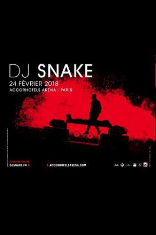 Concert DJ SNAKE à PARIS 12 @ ACCORHOTELS ARENA - Billets & Places