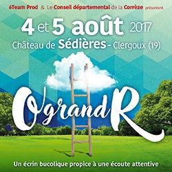 "Billets Festival ""O grand R"" 2017"